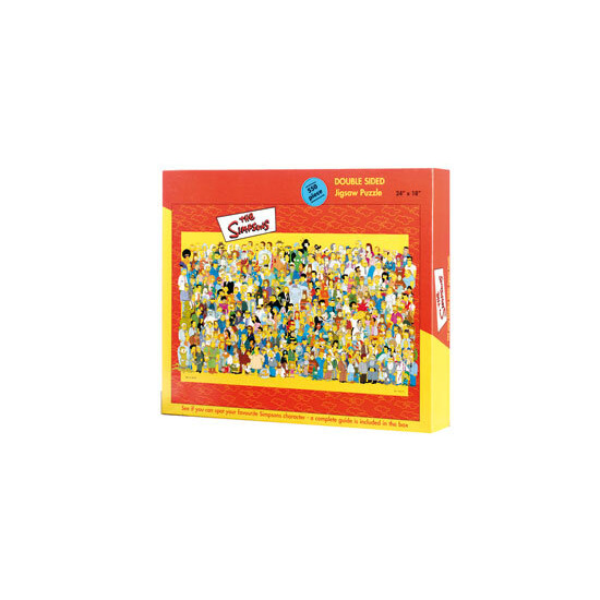 The Simpsons Double Sided Cast Puzzle