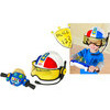 Photo of Playskool - Helmet Heroes - Motorbike Cop Toy