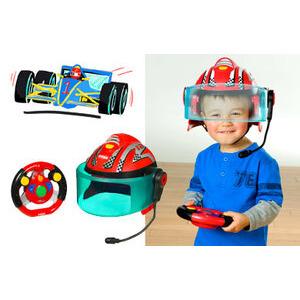 Photo of Playskool - Helmet Heroes - Race Car Driver Toy