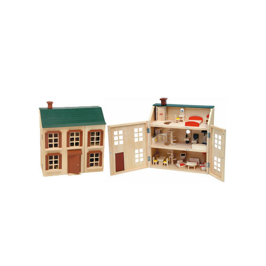 Victorian Wooden Doll House