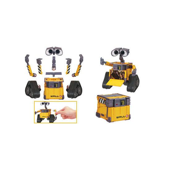 WALL.E Construct a Bot - Wall-E + BNL Spare Parts
