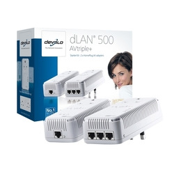 DEVOLO 1721dLAN 500 AVtriple+ Starter Kit Reviews
