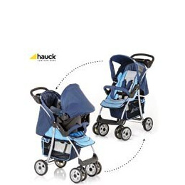 Hauck Shopper SND Travel System - Blue