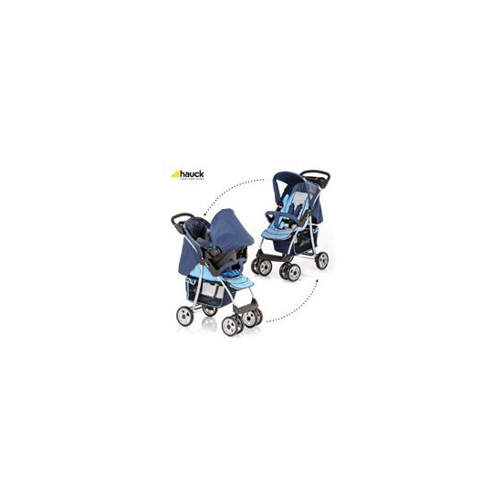 Hauck Shopper SND Travel System - Blue