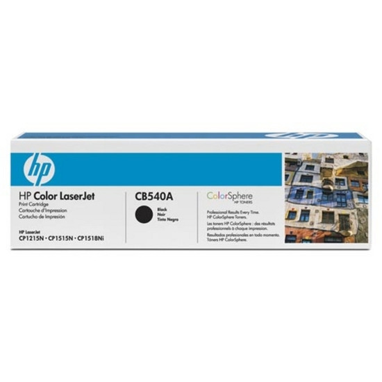 Hewlett Packard CB540A - Black