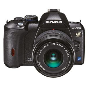Photo of Olympus E-520 With 17.5-45MM Lens Digital Camera