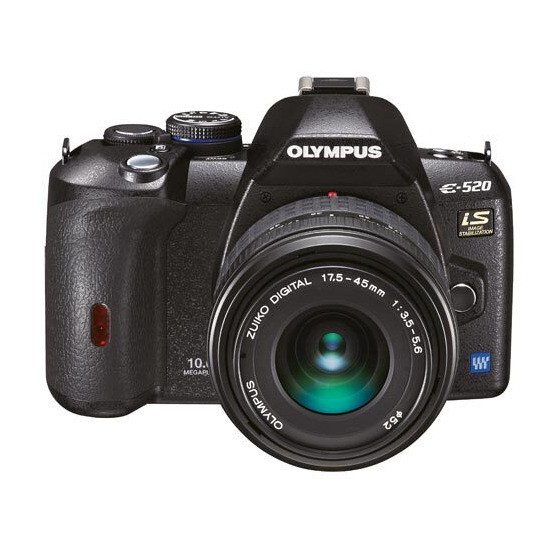 Olympus E-520 with 17.5-45mm lens