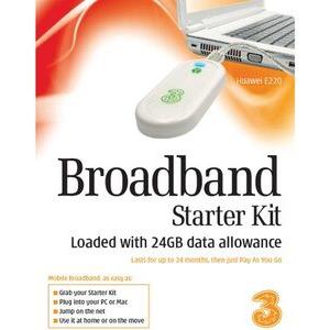 Photo of 3G UK LTD BBSTARTER KIT 24G Modem