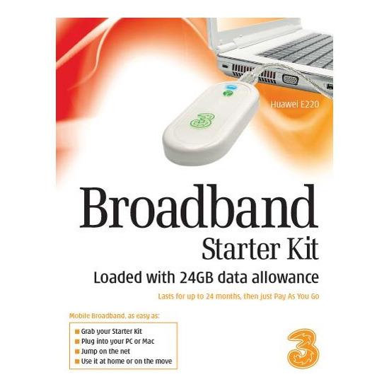 3G UK LTD BBSTARTER KIT 24G