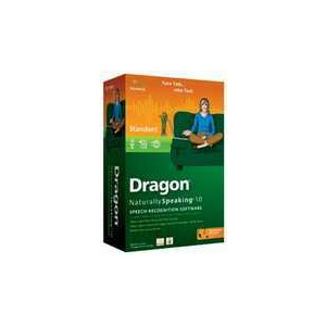 Photo of Dragon NaturallySpeaking 10 Software