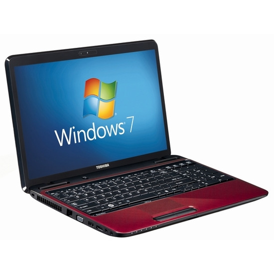 "Toshiba Satellite L750D-14F 15.6"" Laptop - Red"