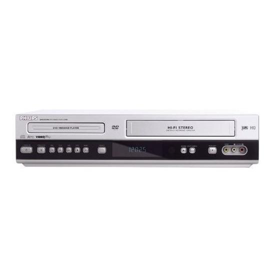 Philips DVD-755VR Silver