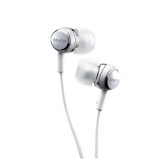 Denon AHC260 Headphones - Silver