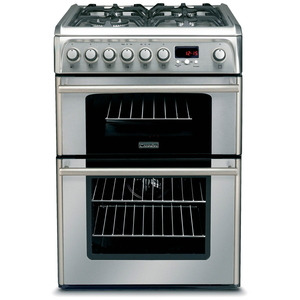 Photo of Hotpoint Professional Double Oven 60CM Gas Cooker In Cream Cooker
