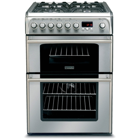 Hotpoint Professional Double Oven 60cm Gas Cooker in Cream