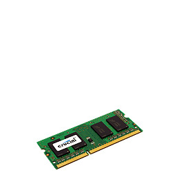 Crucial 4GB kit (2GB x 2) DDR3 PC3-12800 NON-ECC