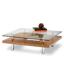 BDI Natural Stained Walnut Coffee Table 2300