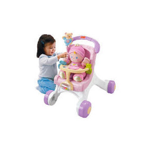 Photo of Fisher Price My Stroll Along Walker Toy