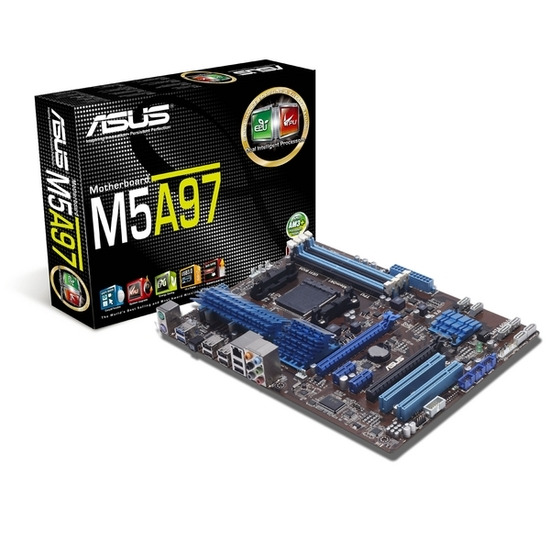 ASUS M5A97 AMD 970/SB950 ATX Motherboard - AM3+ socket