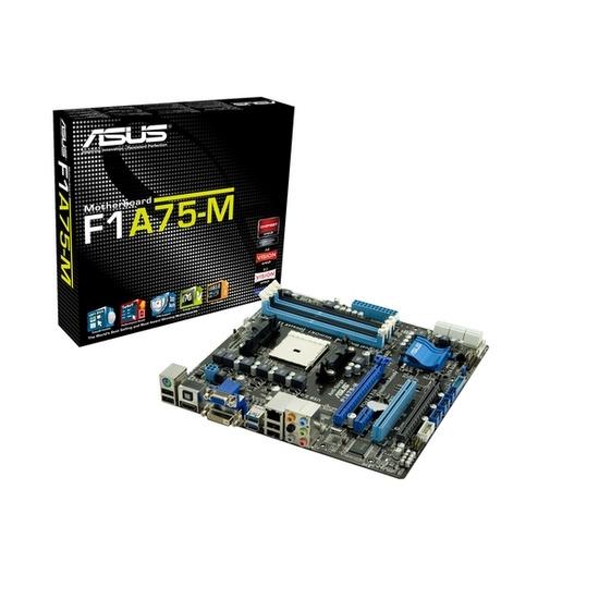 ASUS F1A75-M AMD uATX Motherboard - AMD Socket