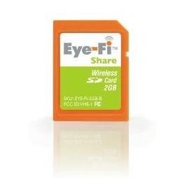 Eye-Fi Share Wireless 2GB SD Card Reviews