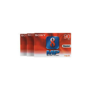 Photo of Sony 8MM Camcorder Tape 3 Pack Tape
