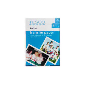 Photo of Tesco T-Shirt Transfers Stationery