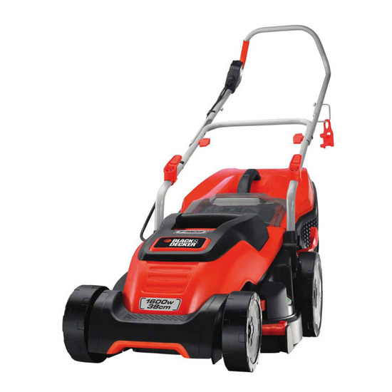 Black&Decker EMAX38i Lawn Mower