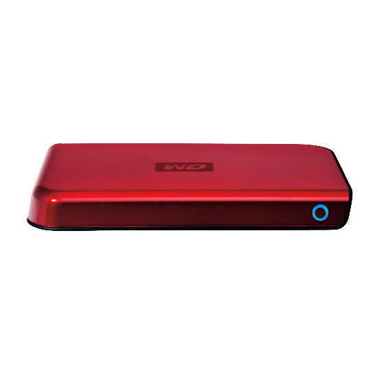 Western Digital 250GB Red Passport Hard Drive