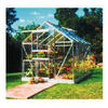 Photo of Halls Popular 8' X 6' Aluminium Greenhouse Greenhouse