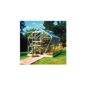 Photo of Halls Popular 8' X 6' Aluminium Greenhouse Greenhouse