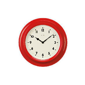 Photo of Acctim Kitchen Red Wall Clock Home Miscellaneou