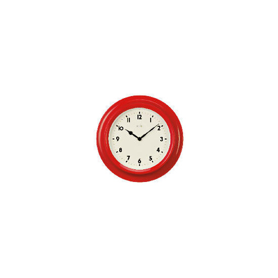 Acctim Kitchen red wall clock