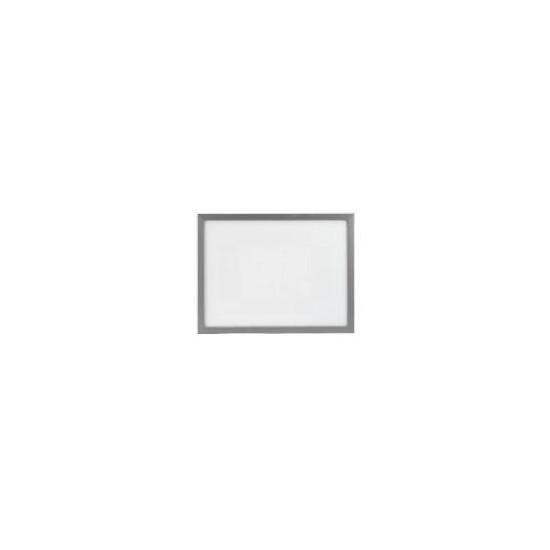 Backloader Frame 30x40cm, Silver Effect