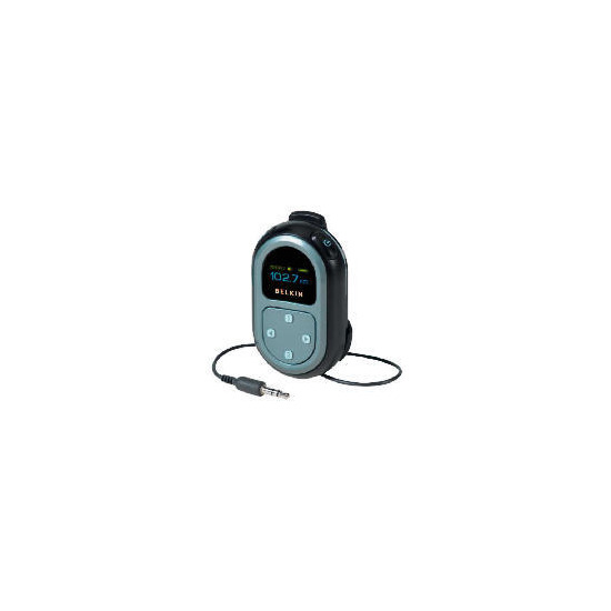 Belkin Tunecast III Mobile FM Transmitter with universal tips