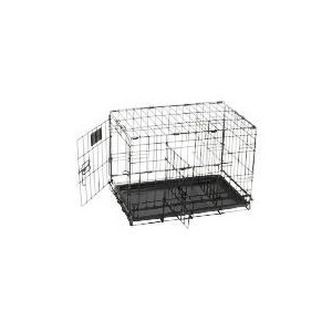 Photo of Small Double Door Pet Crate Home Miscellaneou