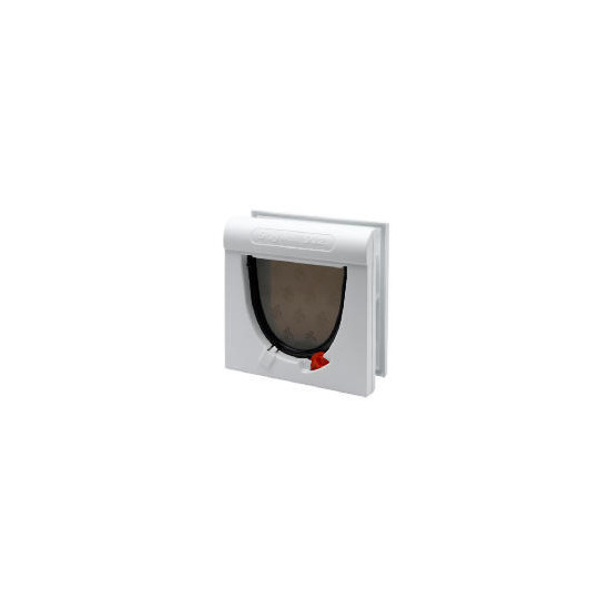 Staywell Magnetic 4 way White Cat Flap