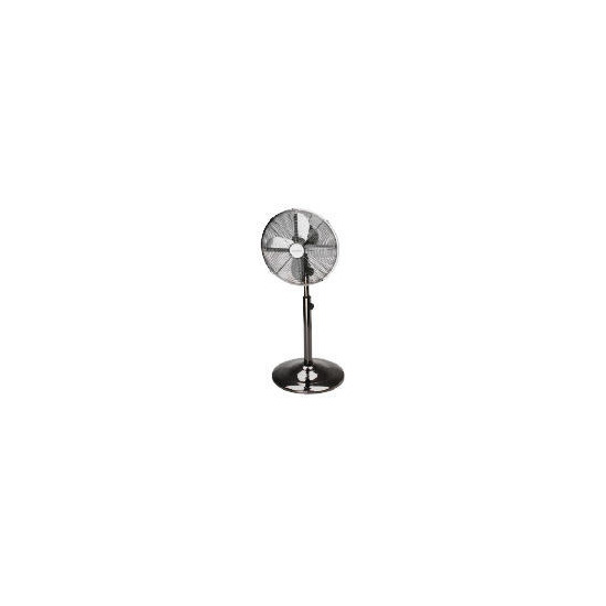 "Micromark MM53594 12"" Chrome Desk Fan"