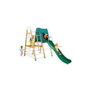 Photo of TP Forest Climber Wooden Climbing Frame Set Toy