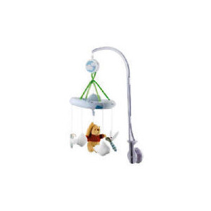 Photo of Disney Honey Tree Pooh Musical Cot Mobile Baby Product