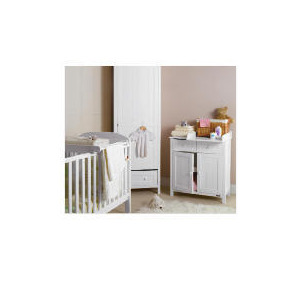 Photo of Deluxe Cot Top Changer With Towel Rail Baby Product