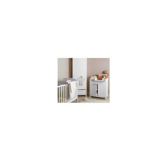 Deluxe Cot Top Changer with Towel Rail