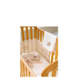 Anna - Antique Finish Drop Side Cot Reviews