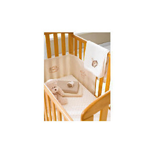 Photo of Anna - Antique Finish Drop Side Cot Cot