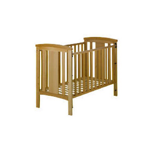 Photo of Katie - Beech Drop Side Cot Cot