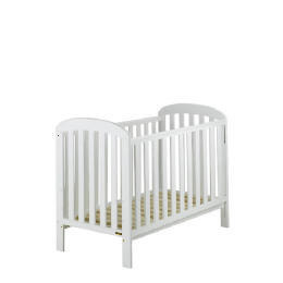 East Coast Anna  Pure White Finish Drop Side Cot Reviews