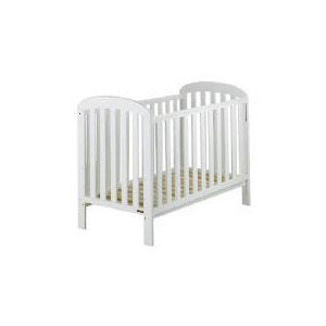 Photo of East Coast Anna  Pure White Finish Drop Side Cot Baby Product