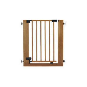Photo of Auto Lock Pressure Gate - Wood Baby Product