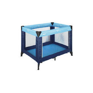 Photo of Hauck Travel Cot Blue Cot