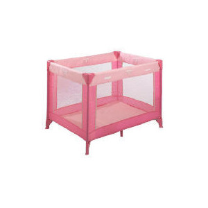 Photo of Hauck Travel Cot Pink Cot